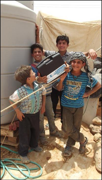 bambini in giordania