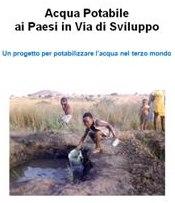 progetto acqua potabile